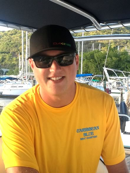 captain and crew caribbean blue boat charters & rentals
