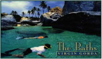 The Baths at Virgin Gorda in British Virgin Islands, reservations with Caribbean Blue Boat Charters