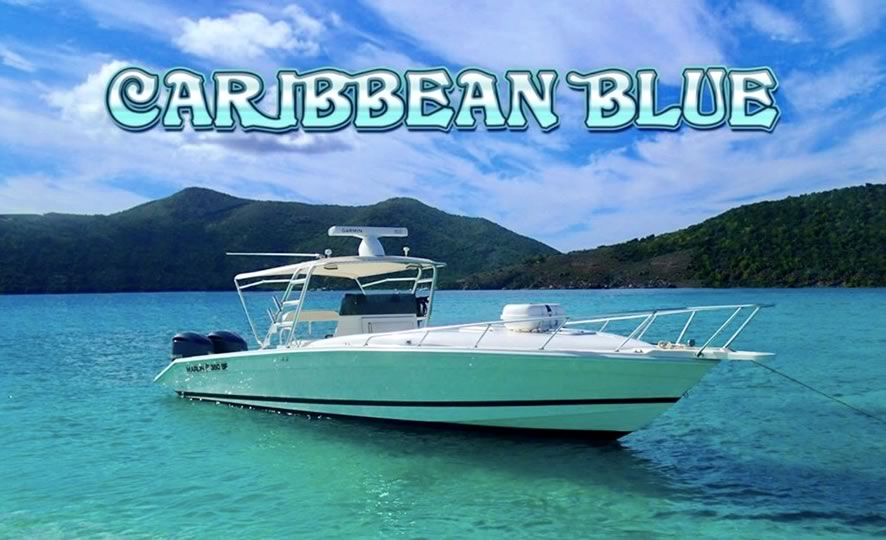 rent a boat or charter a boat at Caribbean Blue Boat Charters in St. Thomas USVI Virgin Islands