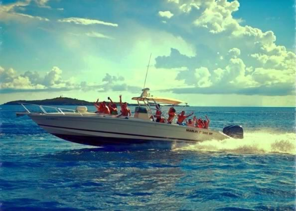 Time Charter Rent a Boat caribbean