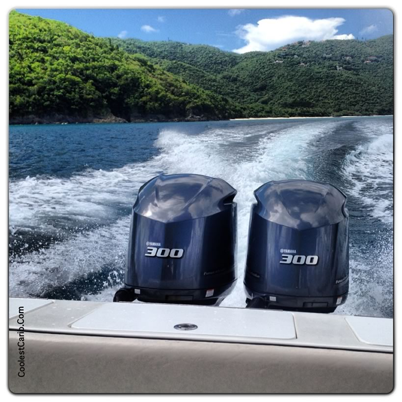 Rent A Boat from Caribbean Blue Boat Charters in St. Thomas USVI