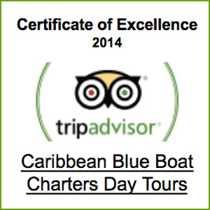 Certificate of Excellence Caribbean Boat Rentals Boat Charters St. Thomas